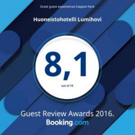 Booking.com Guest Award -palkinto Lumihoville